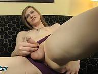 Freija Ase is a sexy tgirl with a hot pale body, budding hormone breasts, a delicious hard cock and a glorious ass! See his sexy transgirl fucking herself with her dildo and jacking off!
