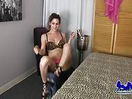 Jenny Conder is a sexy Grooby girl with a smoking hot body, big boobs, a great ass and a sexy cock! Watch this horny tgirl as she shows off her delicious ass and strokes her dick!
