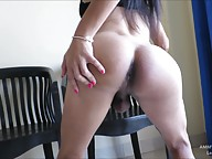 AMMY 3 - LEOPARD DRESS HAIRY COCK