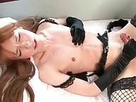 Sweet Ladyboy Lisa Does Hot Solo Show 2