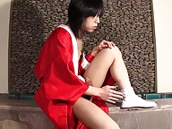 Setsuna`s playful and naughty character as well as her luscious look simply tells you that you`re in front of a doll that`s willing to fulfill all your fantasies. Watch her having a great time in the bathtub lathering up and gets her nice tgirl cock all h